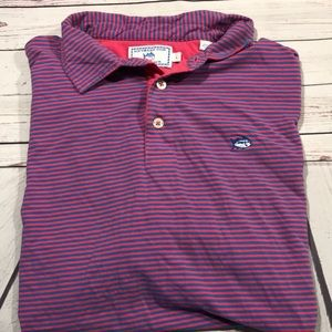 Southern Tide Classic Fit Striped Polo Shirt Men